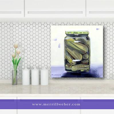 pickles-oil-painting-merrill-weber