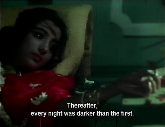 Thereafter, every night was darker than the first