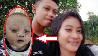 Polres Lamandau Amankan Orang Tua yang Menganiaya Bayi Tiga Bulan Hingga Lebam di Muka