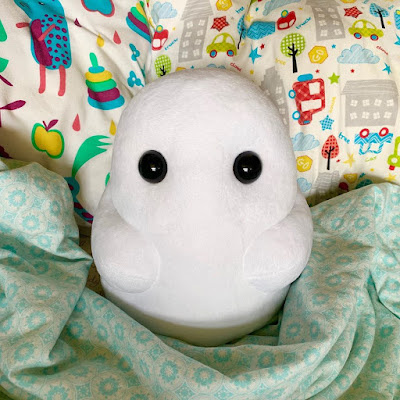 Tiny Ghost OG Edition Plush by Reis O'Brien x Bimtoy x Bottleneck Gallery