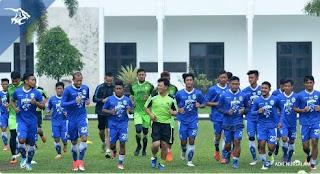 Persib Bandung Gelar 4 Pertandingan Uji Coba