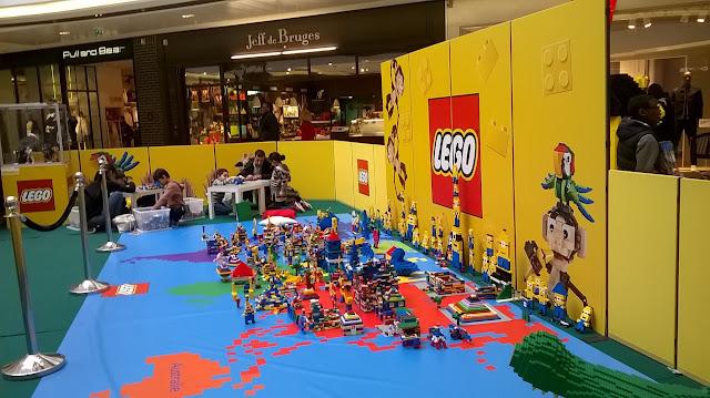 Espace Lego à Rosny 2