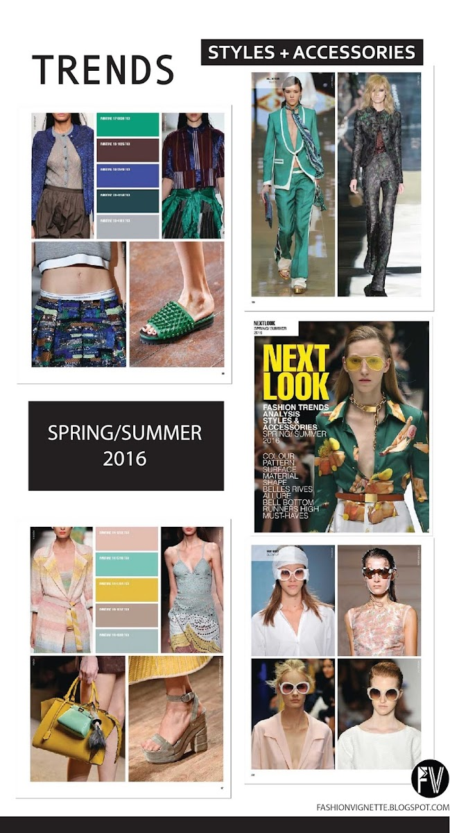 TRENDS // NEXT LOOK FASHION STYLING + ACCESSORIES . SS 2016