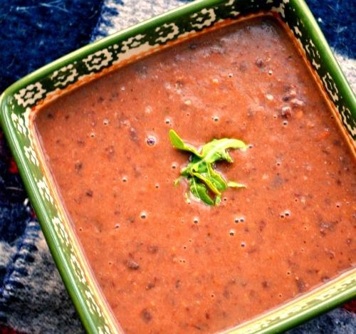Panera's Black Bean Soup!