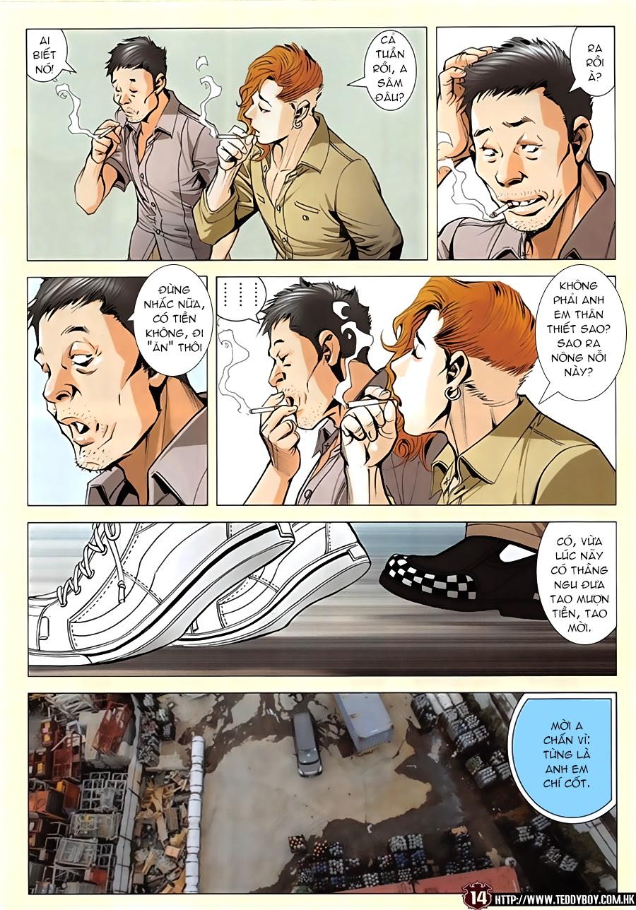 Người Trong Giang Hồ chapter 1952: a chí và a chân trang 13
