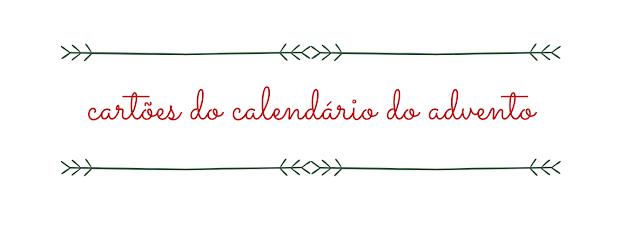 botão para fazer download dos cartões do calendário do advento