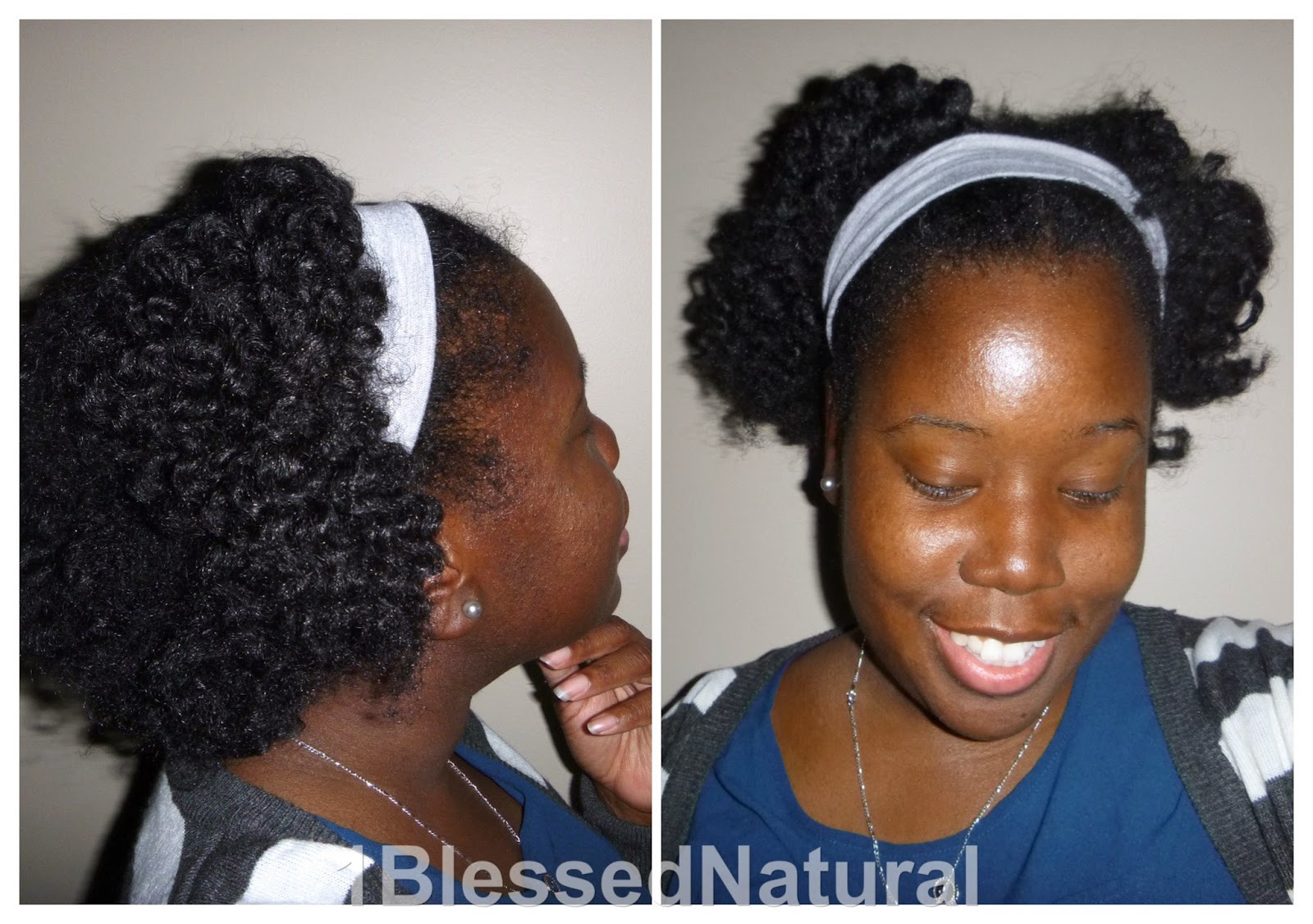 Superb Twist Out On Braid Out Hairstyle 1Blessednatural Mag Hairstyles For Women Draintrainus