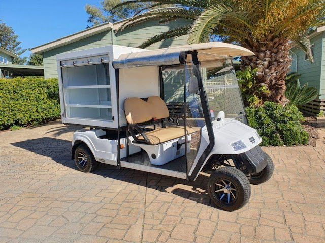 Mobil Golf Car Housekeeping
