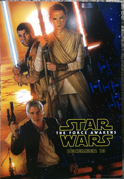the force awakens official poster