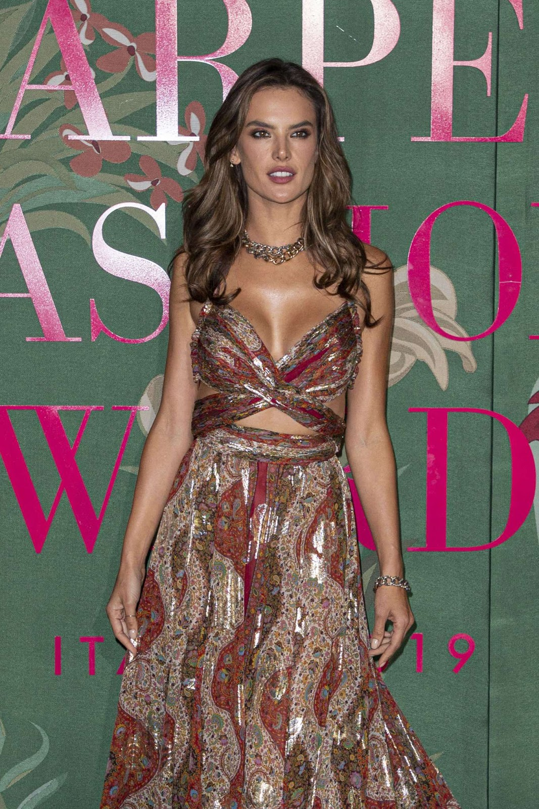 Alessandra Ambrosio – Green Carpet Fashion Awards 2019