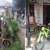 Security Guard na Nagbibisekleta Gamit ang Maliit na Bike, Binigyan ng mga Pulis ng Mountain Bike