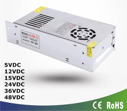 Fuentes poder switching 100 - 240vac - 5v - 12v - 24v - 48vdc