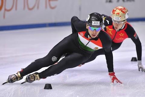 Liu Shaolin ezüstérmes 500 méteren a gyorskorcsolya-világkupán