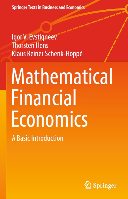 Mathematical Financial Economics: A Basic Introduction