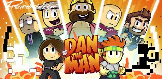 تحميل لعبة المغامرات والاكشن Dan the Man كاملة للاندرويد مجانا باخر اصدار !!!