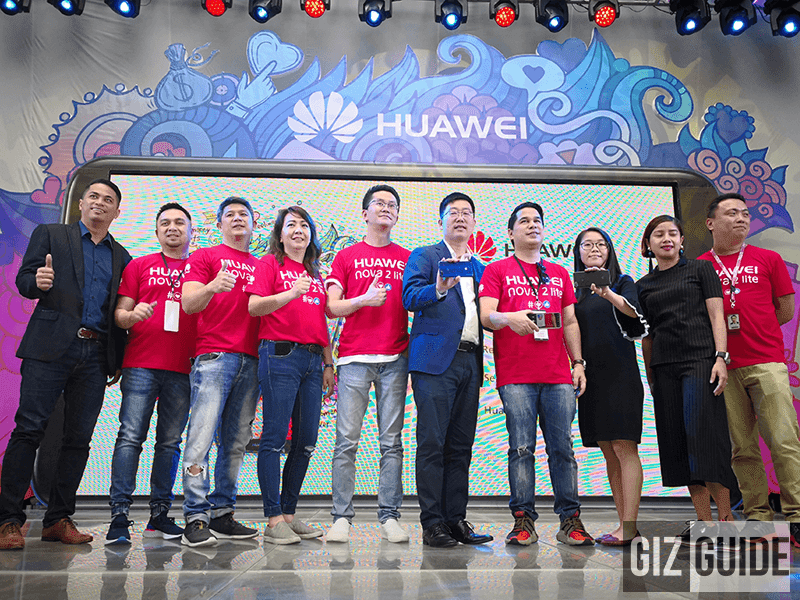 Executives of Huawei Philippines