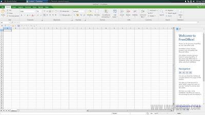 Tampilan Softmaker FreeOffice