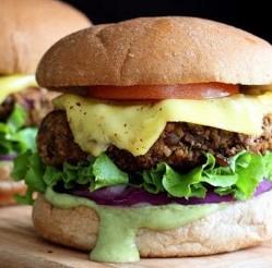 Lentil Walnut Burgers Recipe