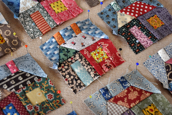 Building Houses From Scraps De Huisjes Quilt