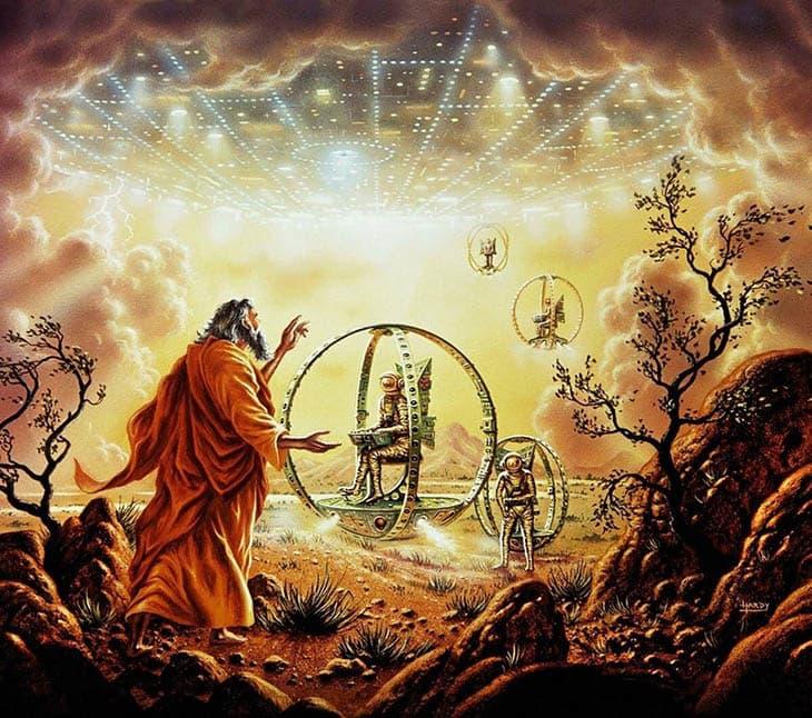 Açıklanamayanlar, A, Hezeikel'in kitabı, Hezekiel'in gördükleri, Hezekiel ve ufo, Hezekiel'in gördüğü uçan araçlar, din, Hezekiel'in görüşleri, Hezekiel ne gördü?, Ufolar, hristiyanlık,
