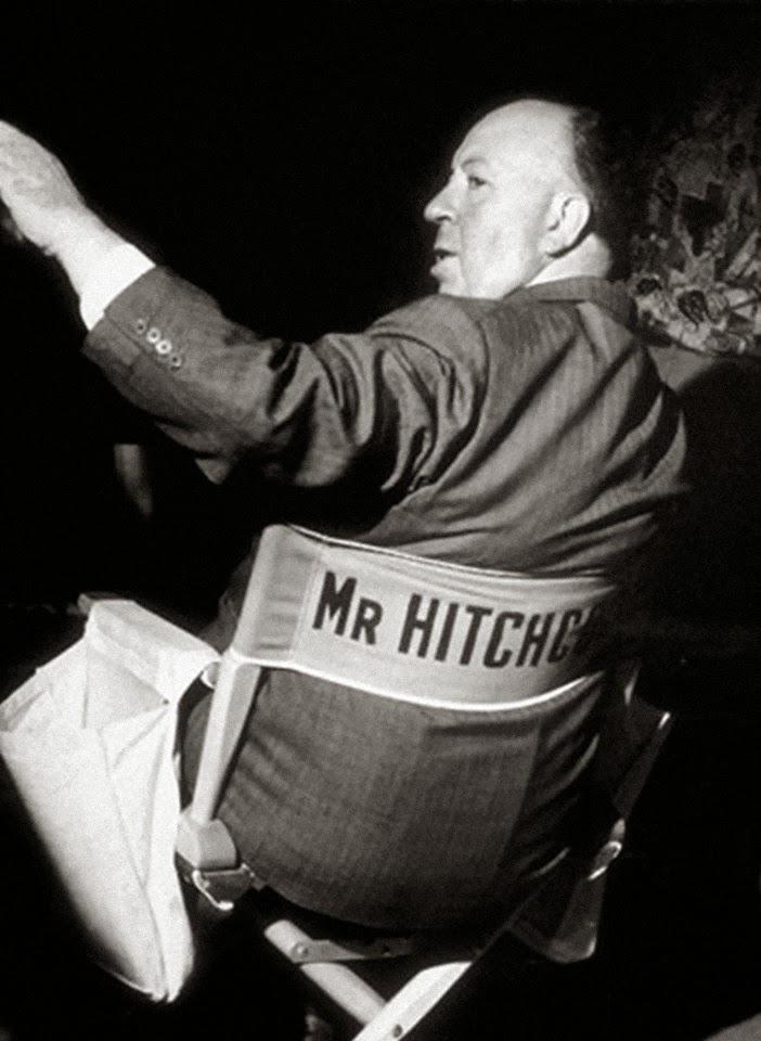 Ο Χίτσκοκ στη θέση του σκηνοθέτη