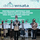 Tiga Desa di NTB Terima Penghargaan Desa Wisata Berkelanjutan Nasional