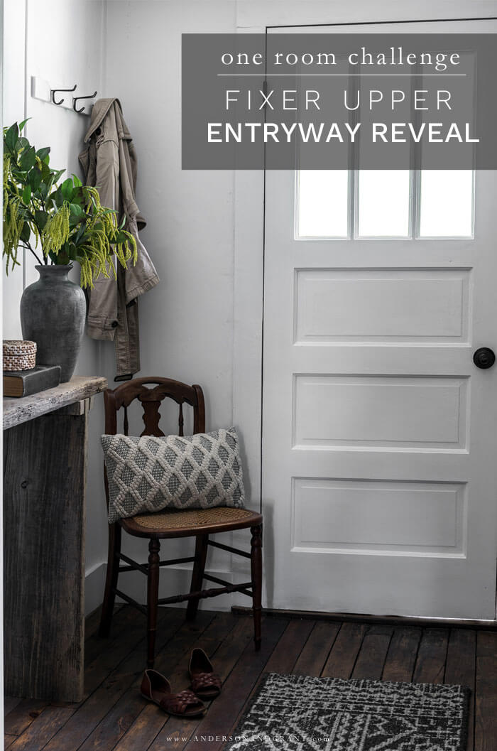 Fixer Upper Entryway Reveal