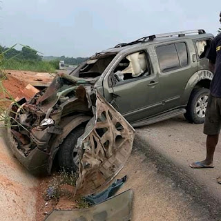 Yul Edochie involved in accident