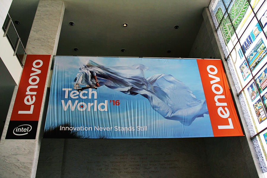 lenovo intel tech world