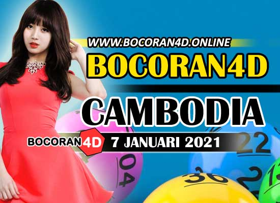Bocoran 4D Cambodia 7 Januari 2021