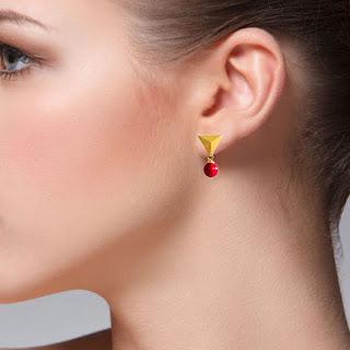 koral earrings