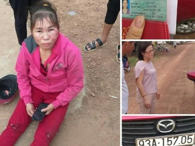 Thông tin bà Trịnh Thị Nga cán bộ Công An gây tai nạn rồi bỏ chạy, CA tỉnh lên tiếng