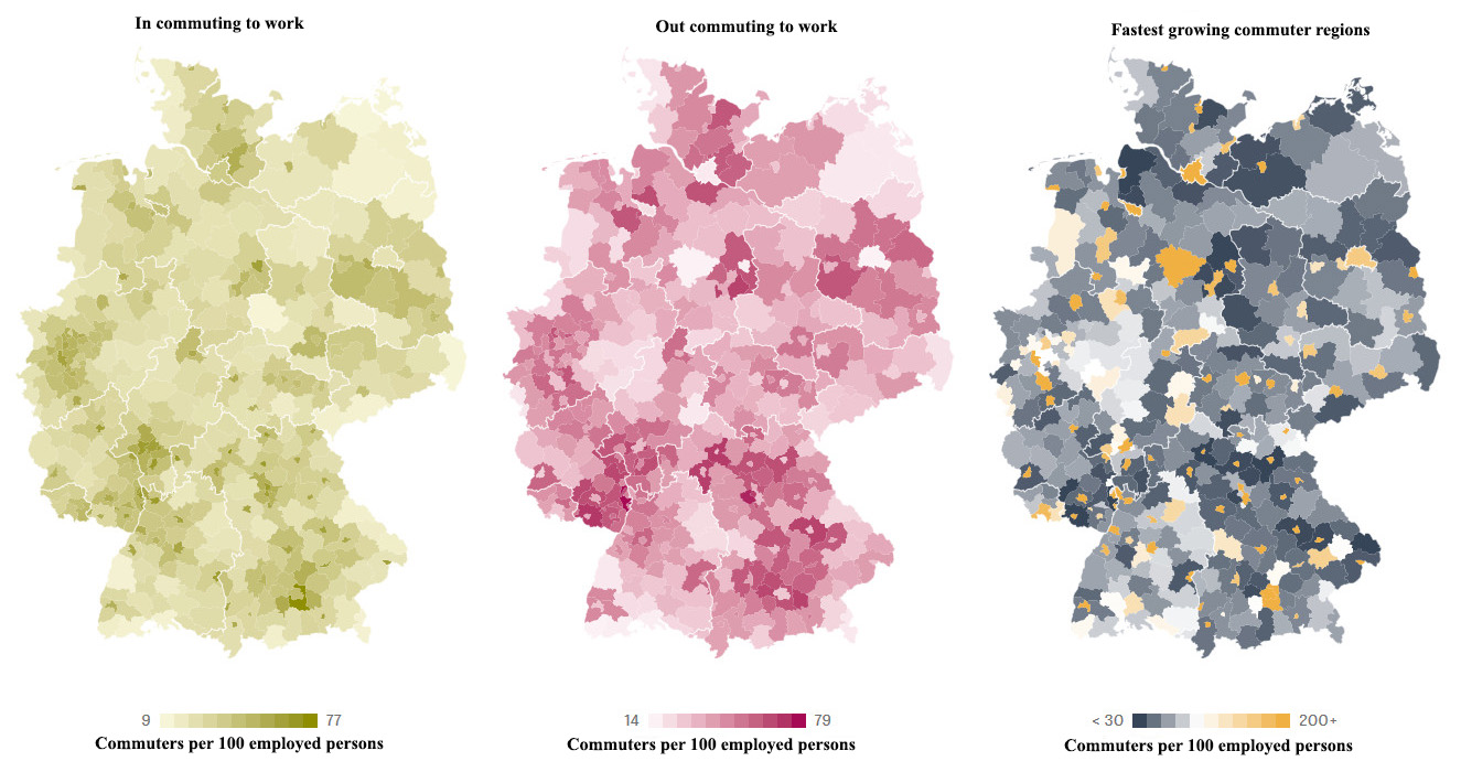 Work Commuting in Germany