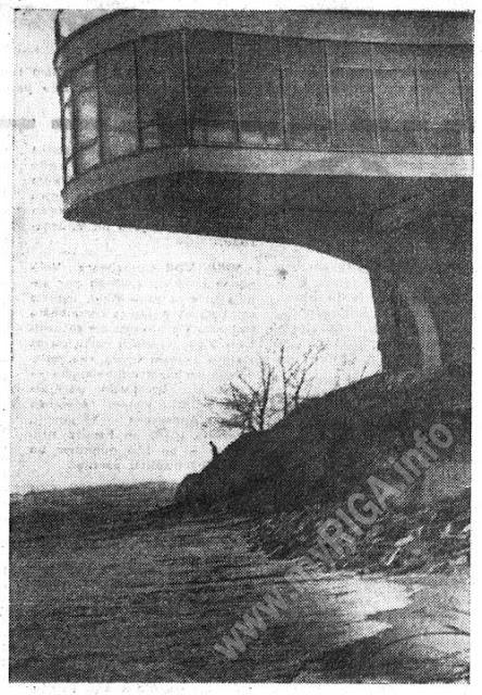 1969 год. Ураган в Юрмале (Дзинтари)
