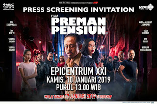 Gala Premier dan Press Conference Film Preman Pensiun