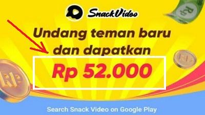 Snack Video Dengan Ovo, Dana, Gopay