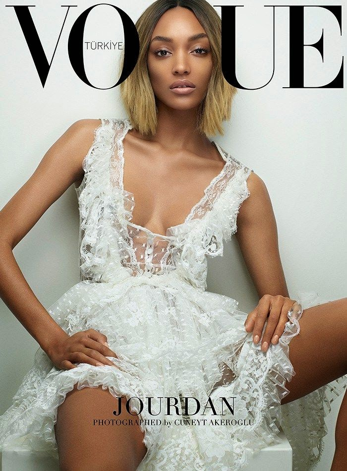 Jourdan Dunn VOGUE Turkey, March 2015