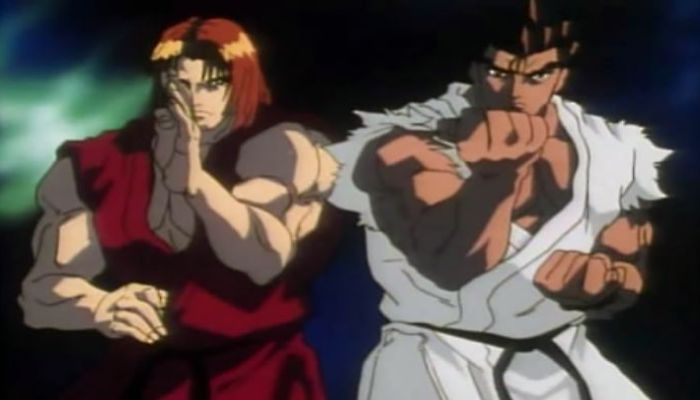 [7 Animes Indispensáveis] - Video Games - Era Clássica Street-Fighter-II-Victory-Ryu-e-Ken