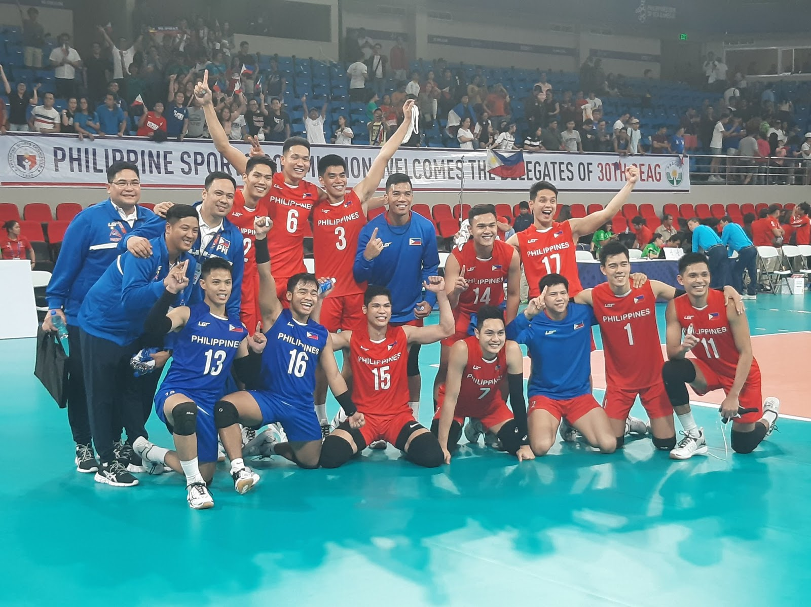 Philippines settles for silver against Indonesia at SEA Games men's volleyball