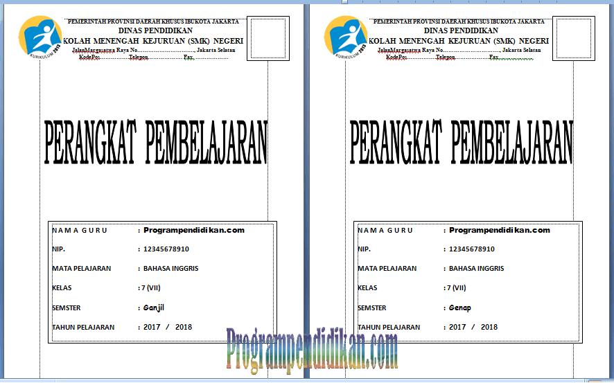 perangkat pembelajaran bahasa inggris kelas 7
