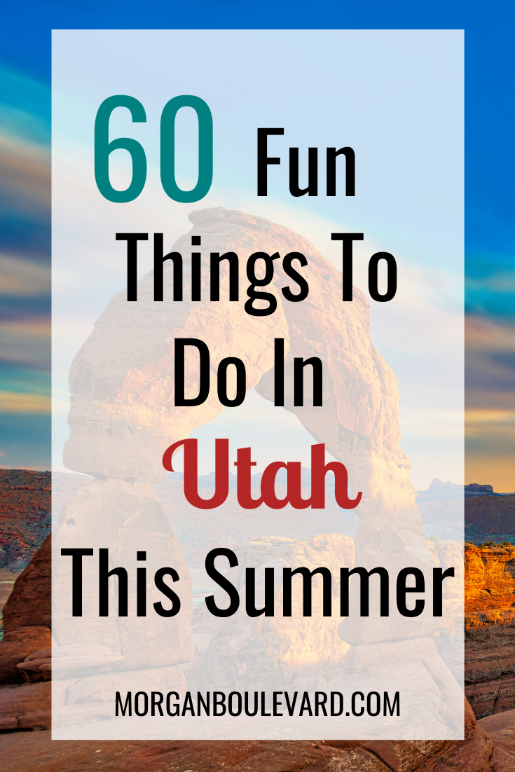 things to do in utah this summer