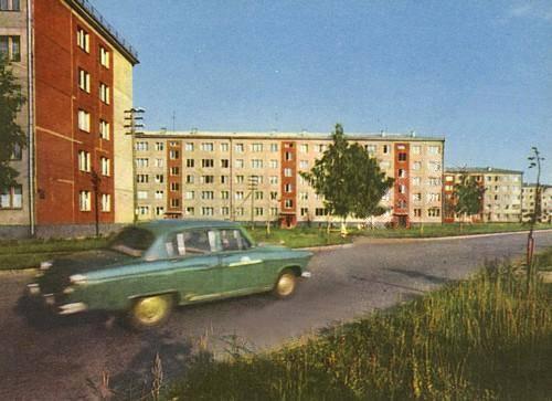 1960-е годы. Рига. Silciema Iela 5, 7, 9, 11