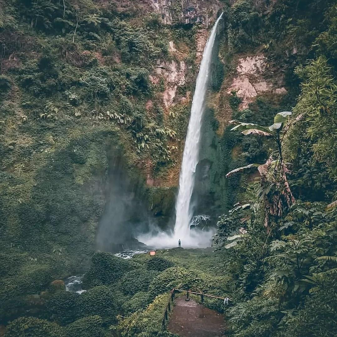 Air Terjun Pelangi di Ulubelu, Tanggamus, Lampung
