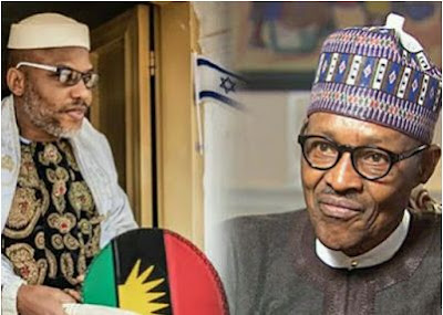 Nnamdi Kanu and Buhari