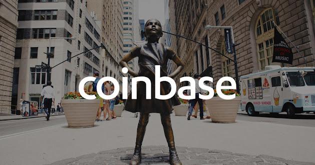 Arribo de Coinbase a Wall Street