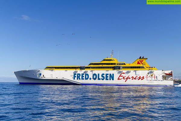 Fred. Olsen Express cambia temporalmente el horario de las rutas entre La Palma y Tenerife