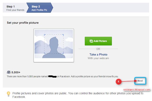 cara daftar akun facebook di hp android