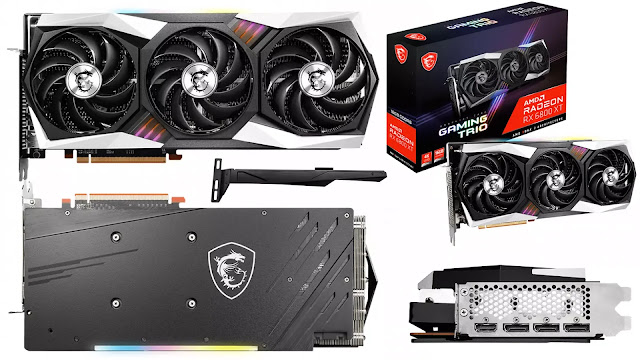 MSI-Radeon-RX-6800-XT-Gaming-Trio-Box-Front-Back-Top-Side-Look-I/O