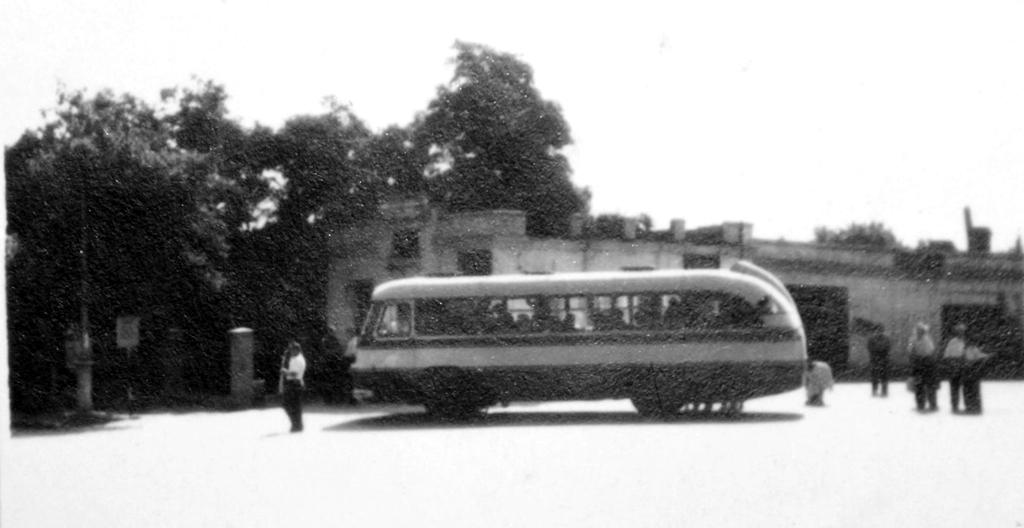 Автостанция Лисичанск 1961 год