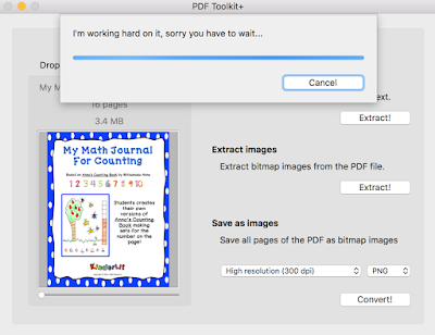 Let the PDF Toolkit+ app do your work for you!